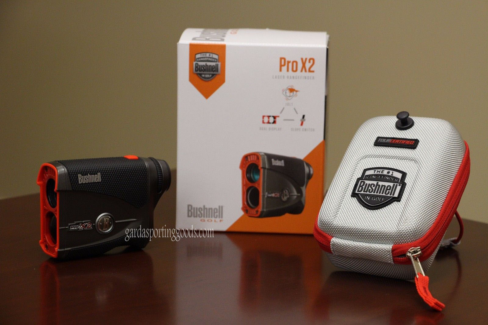 Bushnell Pro X2 Golf Laser Rangefinder