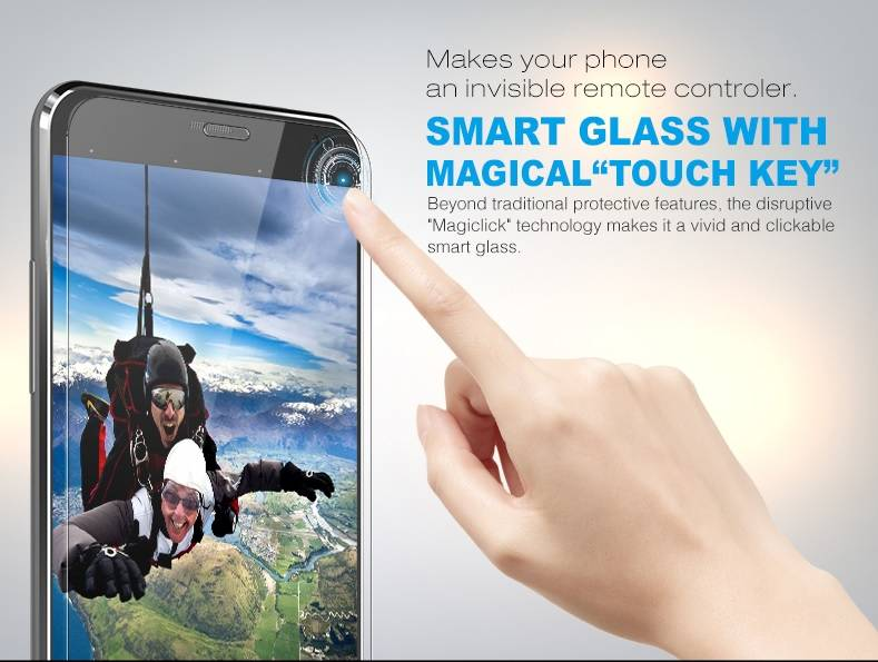 Intelligent Screen Protector/Smart Touch protector film with APP