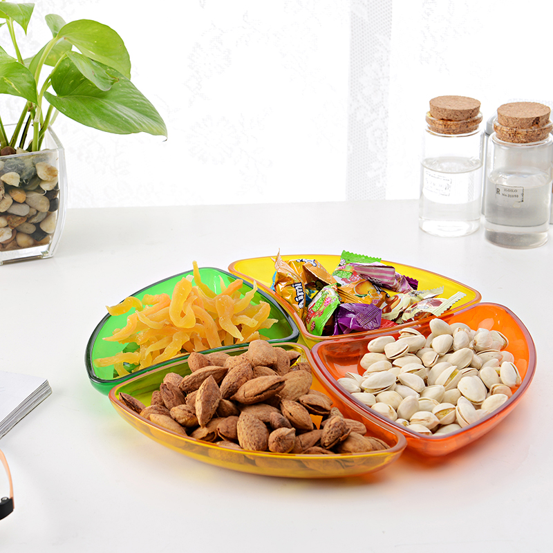 4017 Combination colorful plastic fruit tray/plastic food bowl/