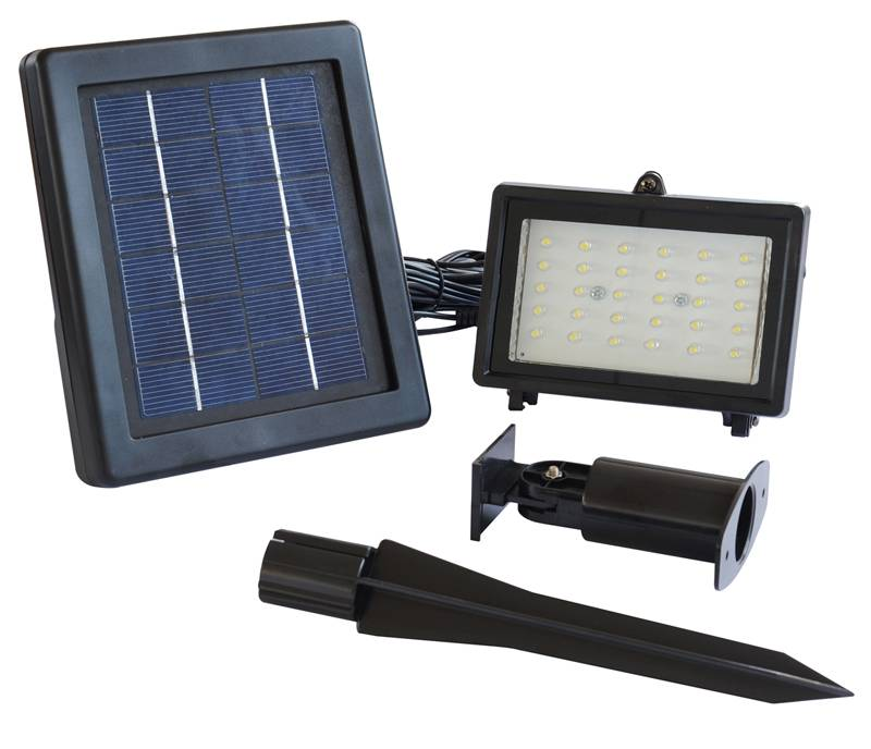 Waterproof IP55 Portable LED Outdoor Solar Powered Spotlight Easy to control Led Landscape