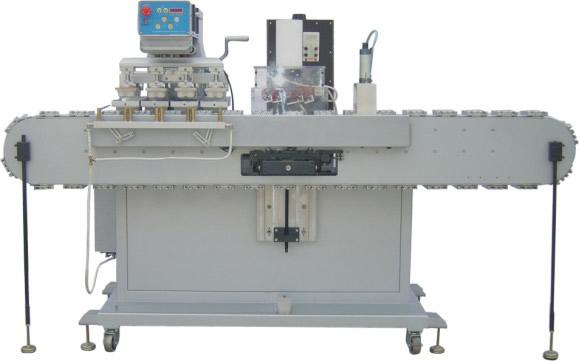 Four Colors Semi Automatic Pad Printers for Bottle Caps
