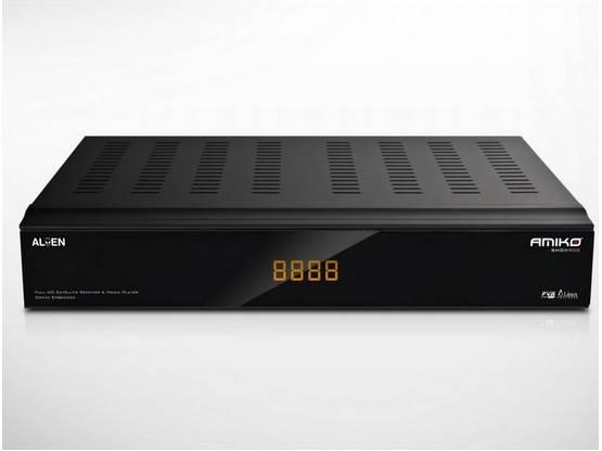 Amiko SHD8900 Alien Dual-Boot Linux Satellite Receiver