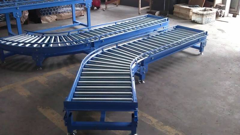 Gravity Roller Curve Conveyor