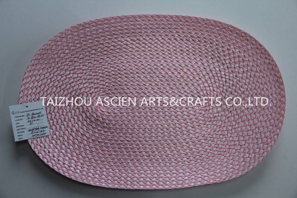 Colorful oval placemats YS-PP12-060OV