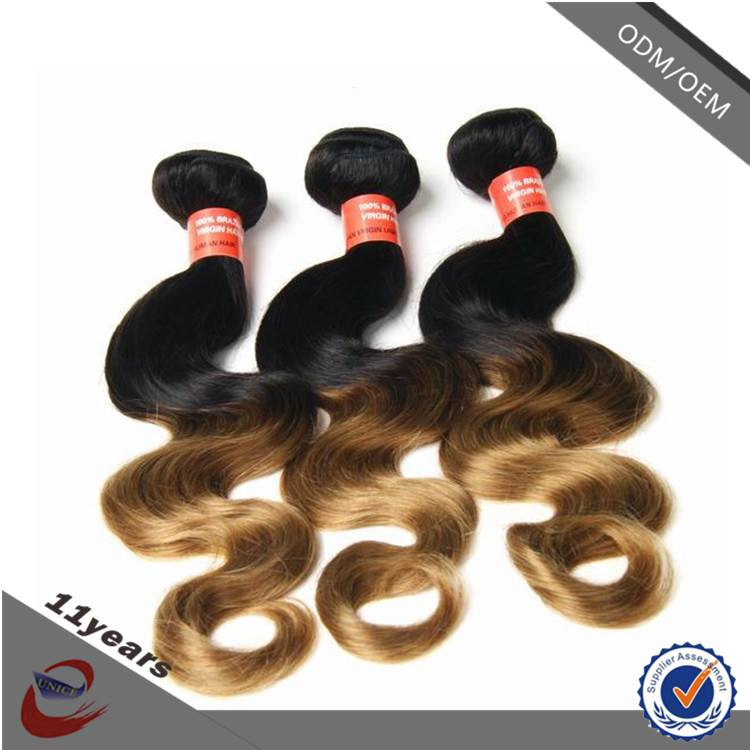 Hot Sale New Products Cheap 6A Brazilian Body Wave Virgin 100% Human Ombre Hair Braiding Hair