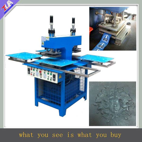 durable silicone label making machine for leather