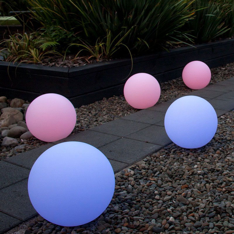 60cm Outdoor Christmas Color Changing Mood 80cm Led Light Ball