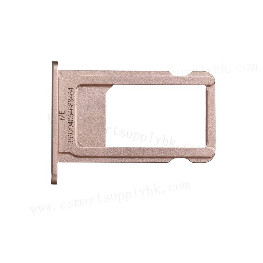 Replacement Part for Apple iPhone 6S Plus SIM Card Tray - Rose Gold - A Grade