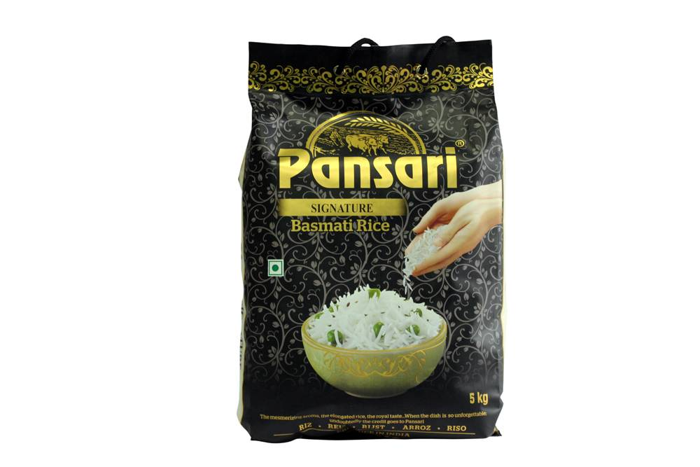 Pansari Signature Basmati Rice 5kg (Pack of 4)