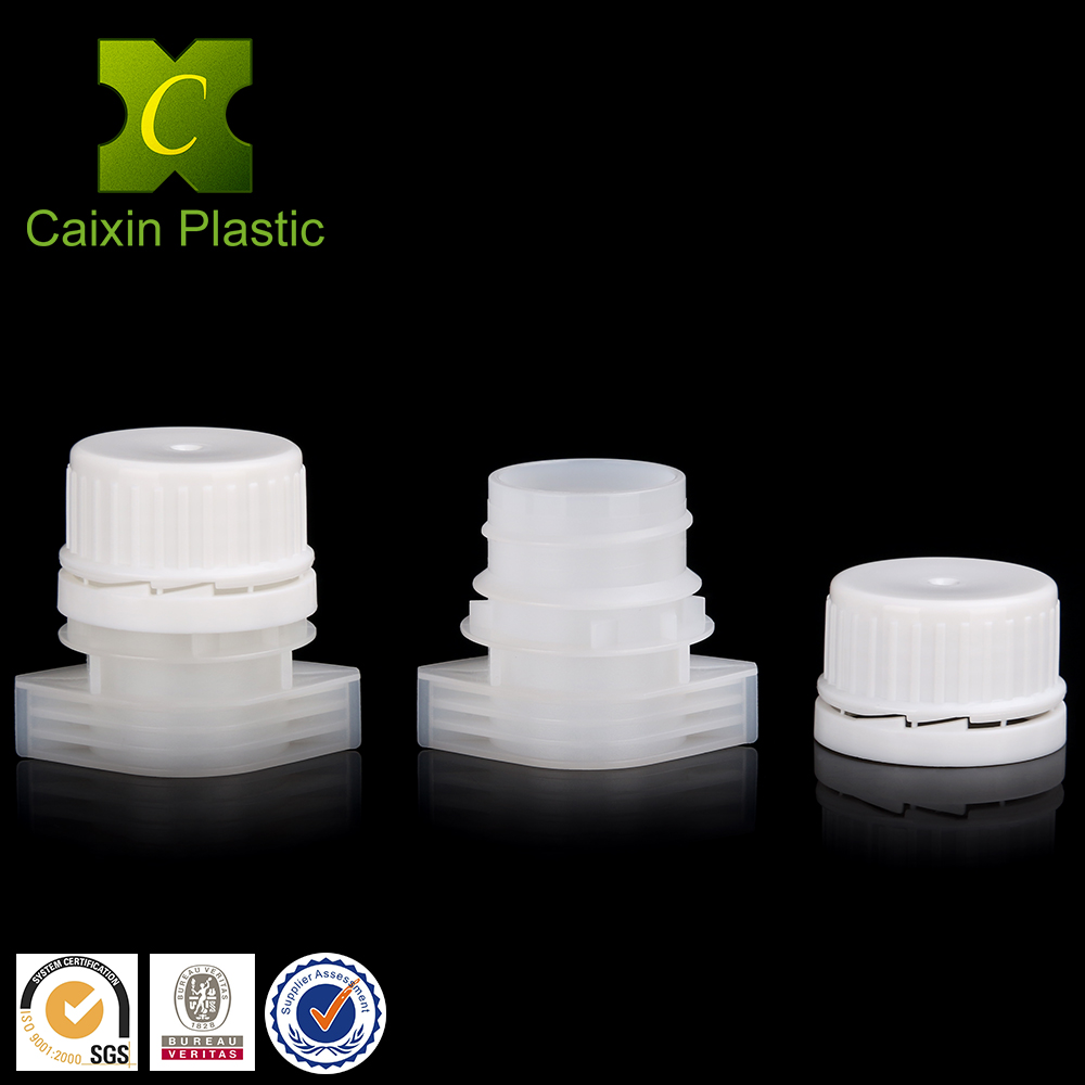 Food Grade 22mm Tamper Evident Cap for Water Liquid Spout Pouch