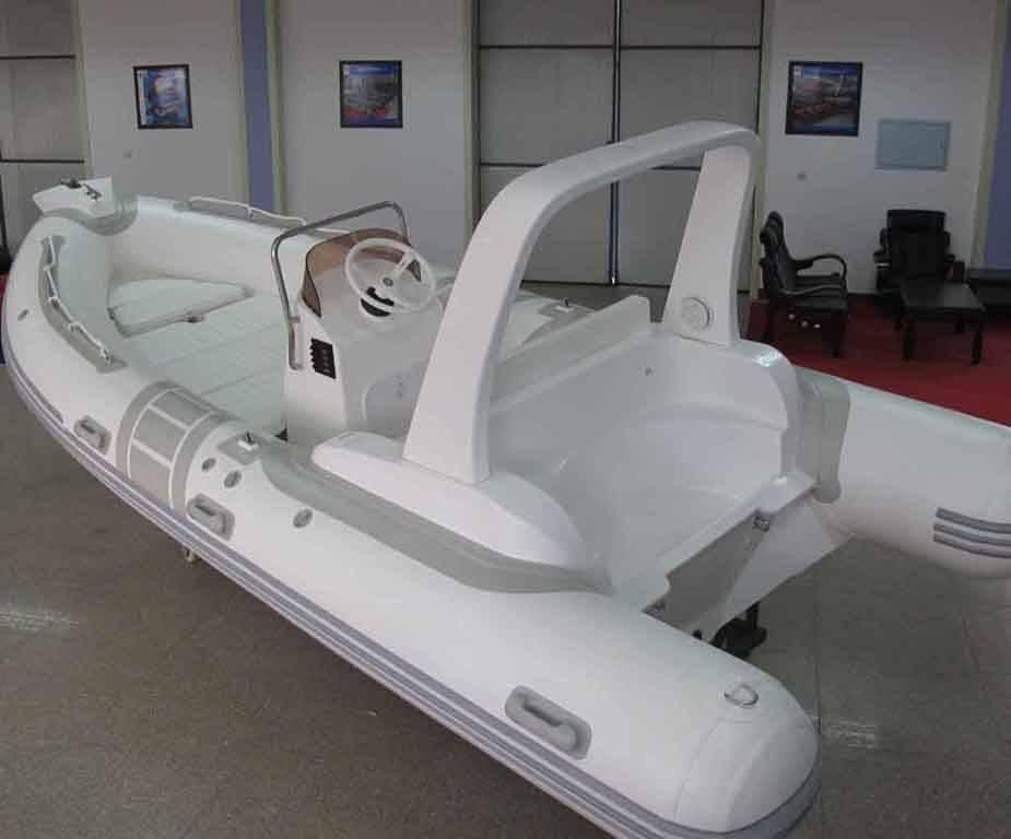 RIB520-C rigid inflatable boat grp hull boat