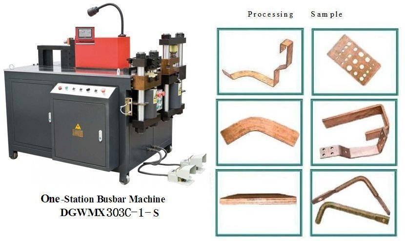 cnc busbar machine