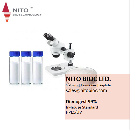 Factory Quality Control, Strong Intermediate Powder:Dienogest steroid for pharmaceuticals