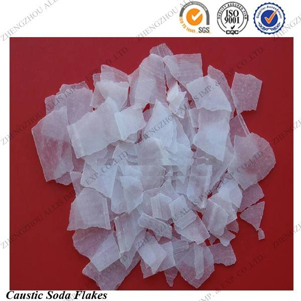 SGS Approved manufacturers supply caustic soda flakes 99
