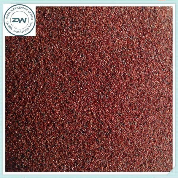High hardness natural material Garnet sand 20/40