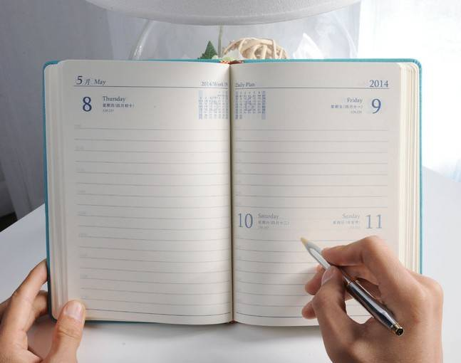 Promotional Paper Diary&Planner&Organizer &Notebook