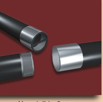 Steel column pipe with muffs/couplings