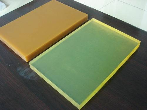 PU rubber sheet rod