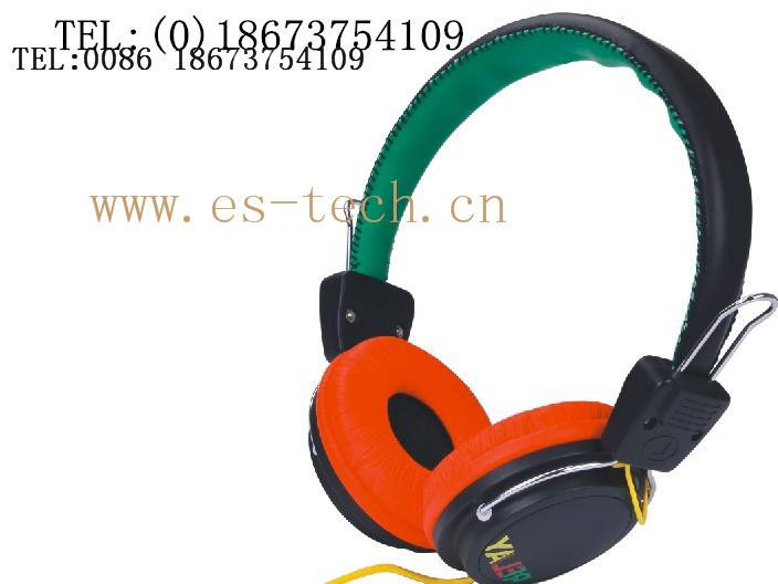 Double sides communication headset headphone