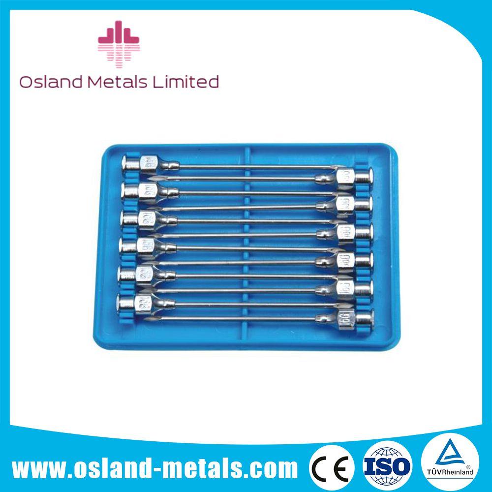 Reusable Veterinary Hypodermic Needle