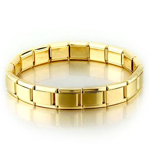 Composable nomination gold plated italian bracelet