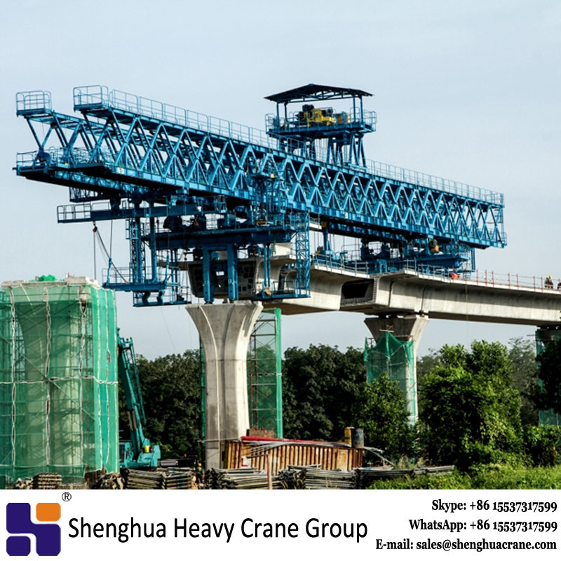 Stable quality 1000T launching gantry erection machine