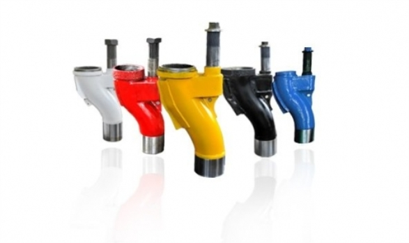DN180/200/230/250/260 Concrete Pump Spares S Valve S Tube Concrete Pump S Pipe S Valve Assembly