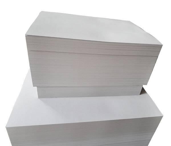 dong guan grey chip board standard size grey chip board