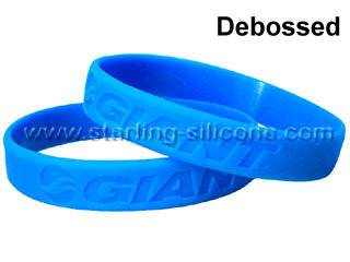 STARLING Silicone- Silicone Wristbands, Debossed Silicone Wristbands, Debossed Silicone Bracelets