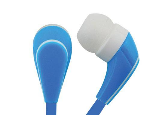 Hot selling flat cable earphones