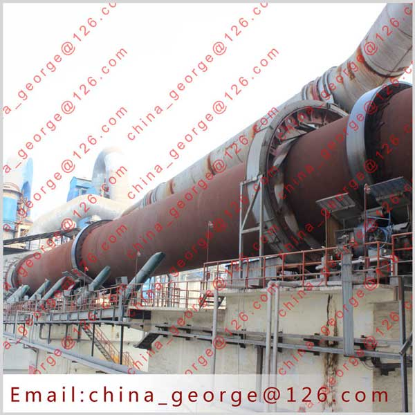 Large capacity hot sale aluminium hydroxide rotary kiln sold to Kyzylorda