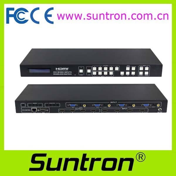 Suntron HDV1204F Seamless Mixed Switcher