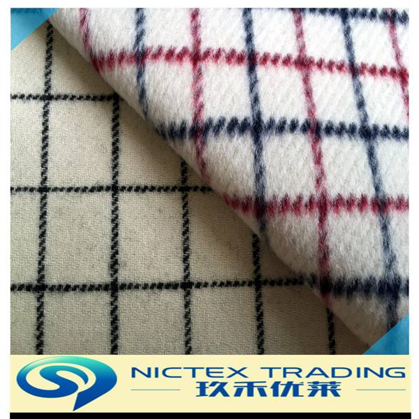 blend tweed wool fabric for winter