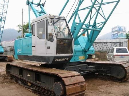 KOBELCO 7045 45T used crawler crane for sale