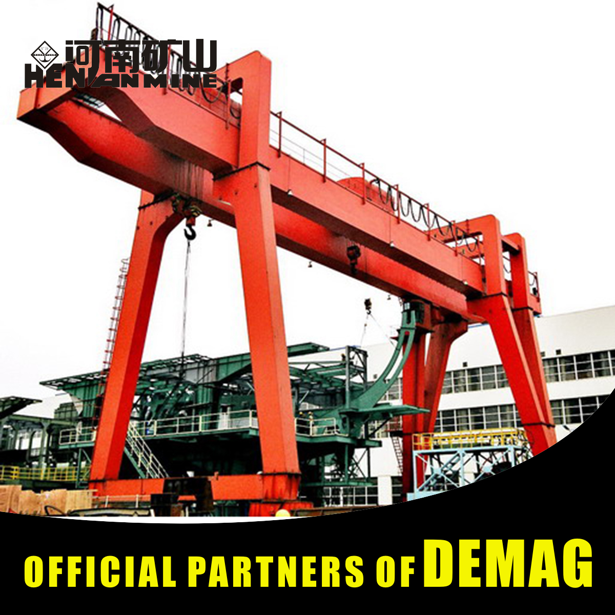 Safe Driving 15T Power Feeding Long Traveling Gantry Crane Price For Sale By Owner