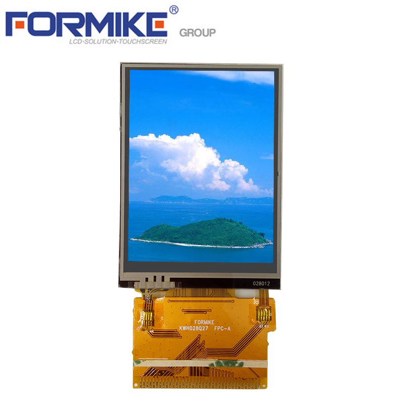 37 Pin Replacement Lcd Screen 240x320 2.8 inch Resistive Touch Lcd (KWH028Q27-F02)