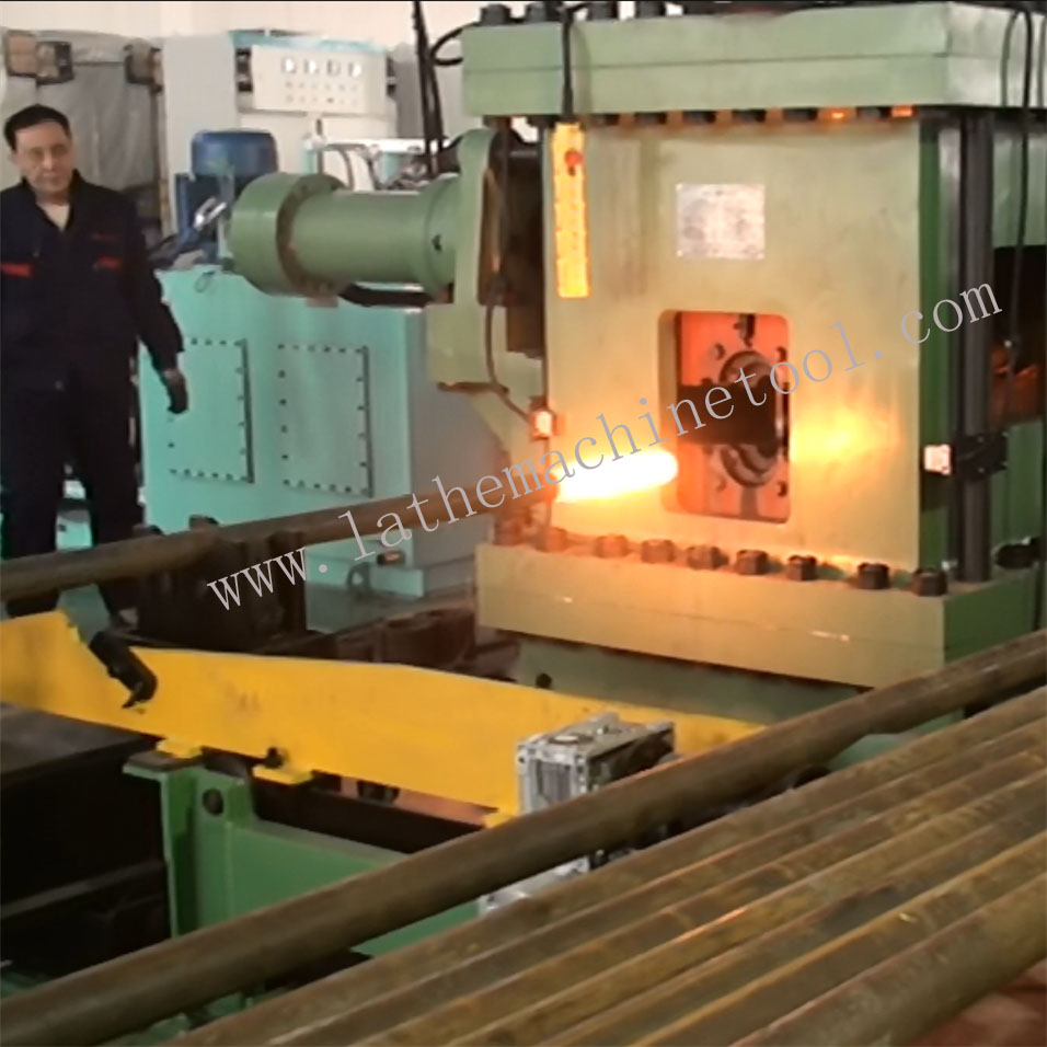 High qualified rate oil pipe production line for Upset Forging of Oil Extraction pipe