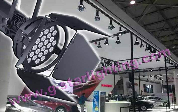 31*10W Cold White LED Car Exhibition Show Lighting