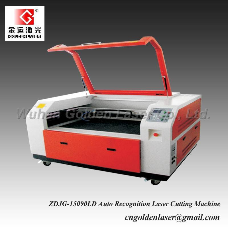 Double Head Embroidery Laser Cutting Machine