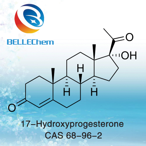 17-Hydroxyprogesterone CAS 68-96-2