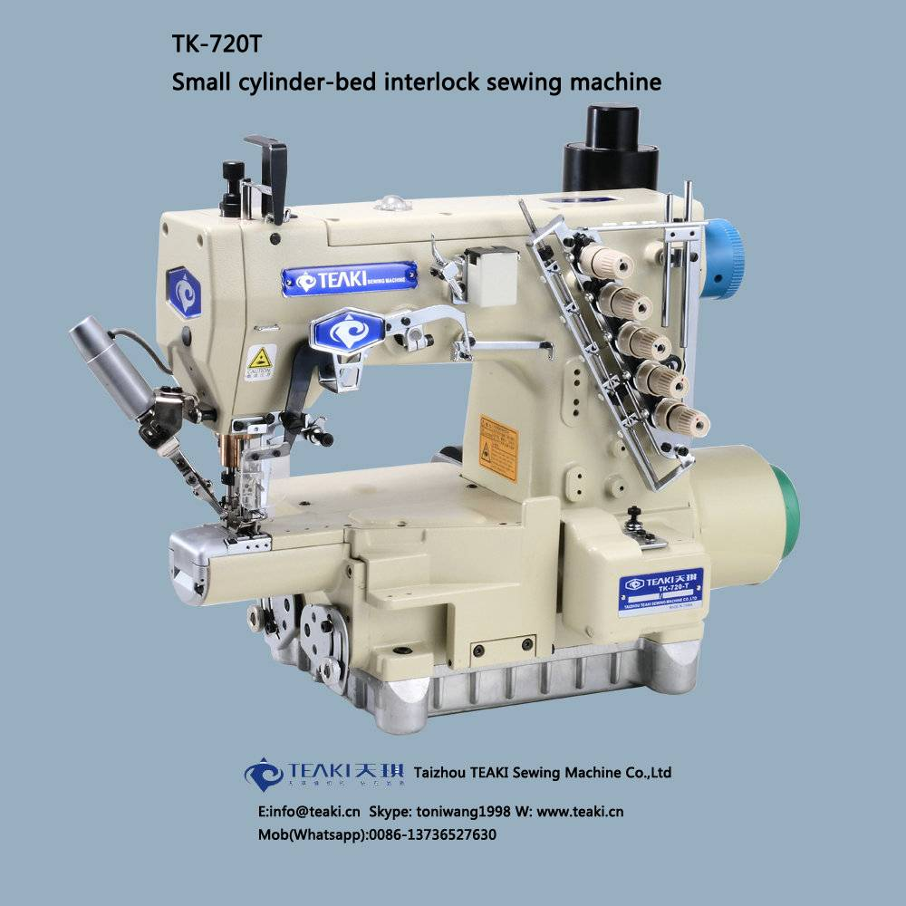 TK-720T small cylinder-bed interlock sewing machine