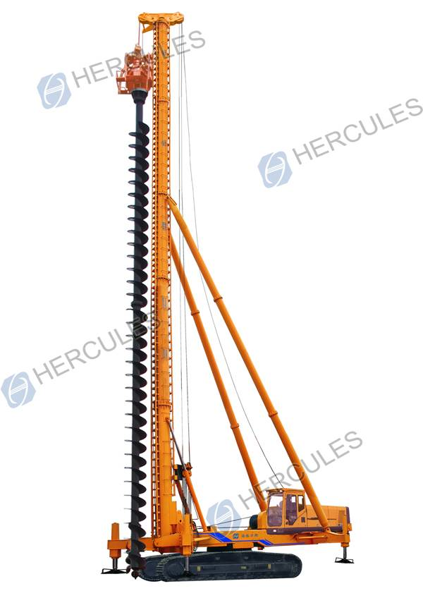 KLL series Electric Crawler Long Auger Piling Rig