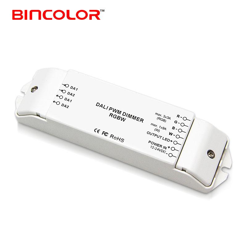BC-344 DC12V-24V 4 channel rgbw led light dali dimmer with 3 years warranty