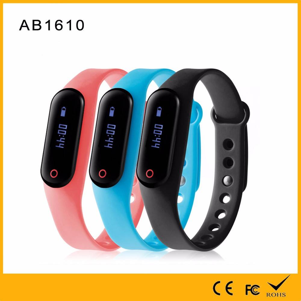 Original Factory Made 10m bluetooth Heart Rate with Call SMS Reminder bluetooth smart bracelet