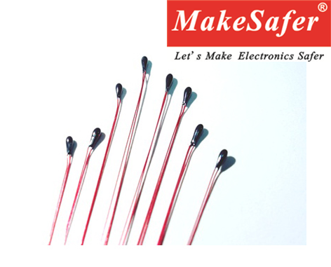 High quality enamelled wire ntc thermistor 100k