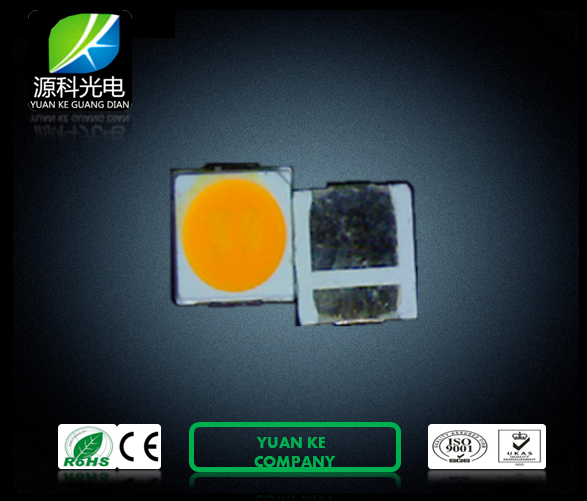 3030 dual chip SMD LED lamp 5000pcs aluminum foil vacuum packed RGB white warm white red green blue