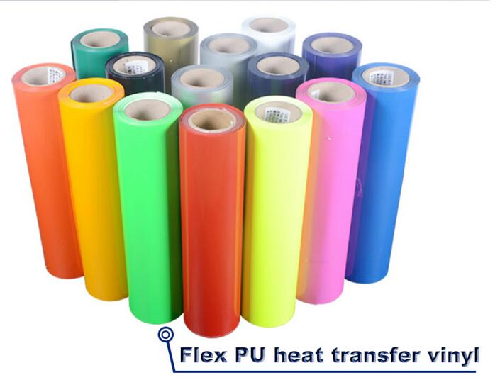 China High quality PU heat transfer vinyl for t-shirt