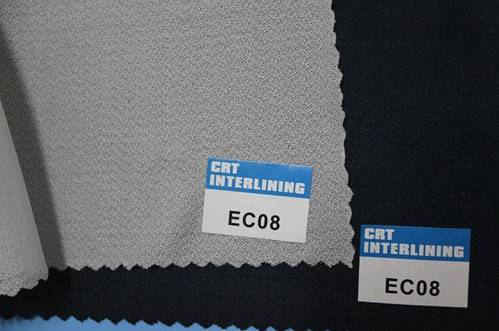 woven fusible circular knit enzyme wash interlining-EC08(interfacing)