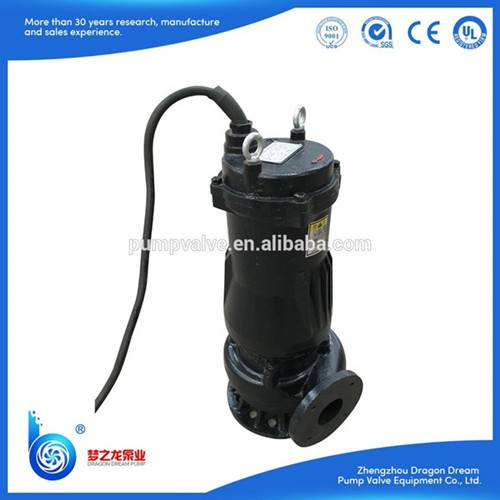 WQ series submersible sewage slush water pump