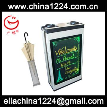 color changing new advertising product DIY led light box for Customer from France